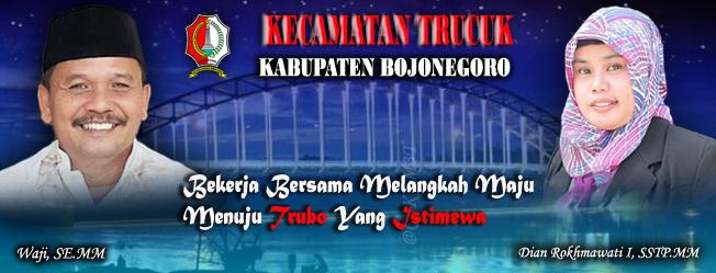 Kecamatan Trucuk<BR>Waji,SE.MM (Camat Trucuk)   Dian Rokhmawati I,SSTP.MM (Sekcam trucuk)
